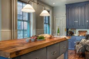 Wood Island Tops Kitchens by Beautiful Wooden Countertops For The Kitchen
