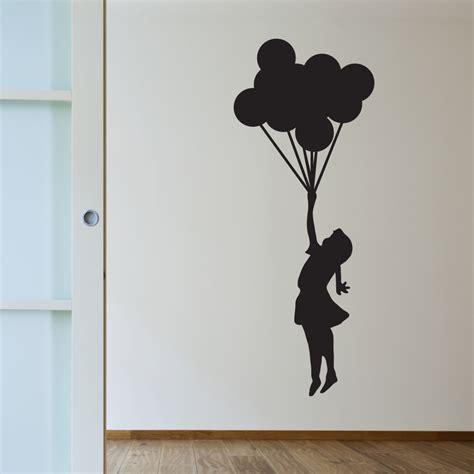 Wall Stickers Dandelion banksy balloon girl walls need love touch of modern