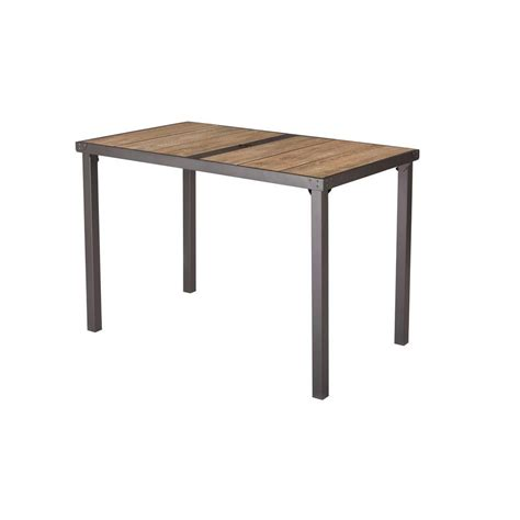 The Bay Dining Table Hton Bay Statesville Rectangular Glass Patio Dining Table Ftm70512 The Home Depot