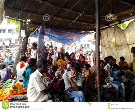 healthcare facility  indian village editorial stock