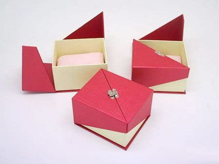 Handmade Paper Box - handmade card boxes gold jewelry crafts
