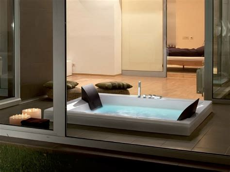 vasche da bagno doppie vasca da bagno idromassaggio da incasso era plus 200x120