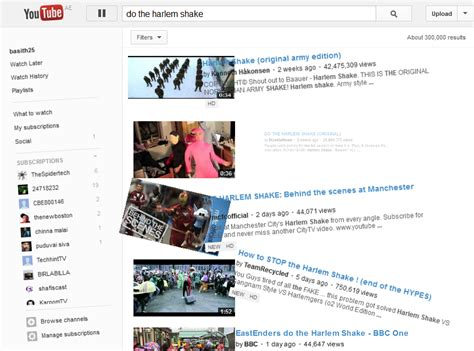 membuat youtube harlem shake youtube hace el harlem shake