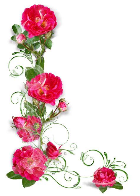 imagenes en png de flores marcos para cartas de flores imagui