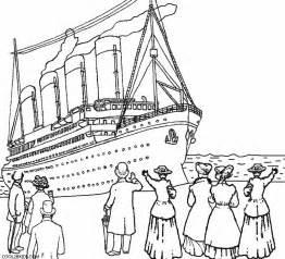 titanic color pages rms coloring titanic passesners coloring pages