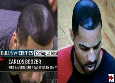 spray paint in hair carlos boozer reminisces about the time he spray painted