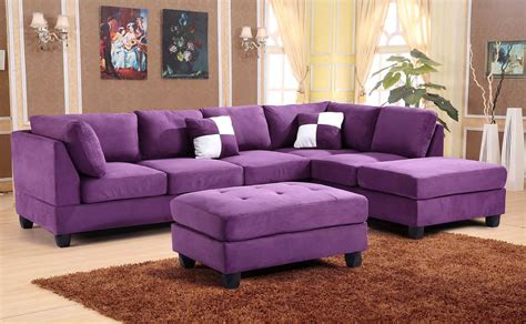 reversible sectional set purple living room sets living room furniture living room