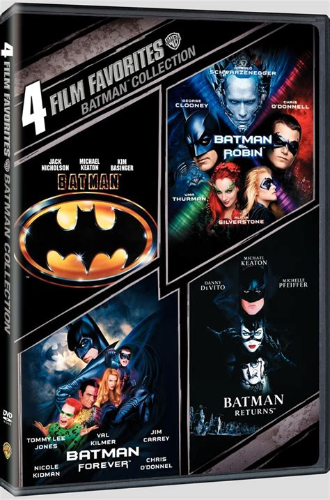 news batman collection us dvd r1 dvdactive