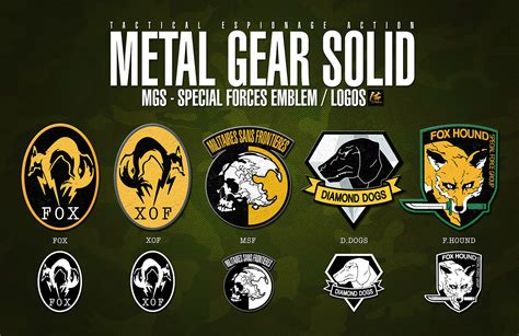 mgs special forces emblem logos by elite4foxes on