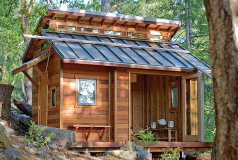 How To Build A Cottage Style Roof 15 Ingeniously Designed Tiny Cabins For Vacation Or Gateway