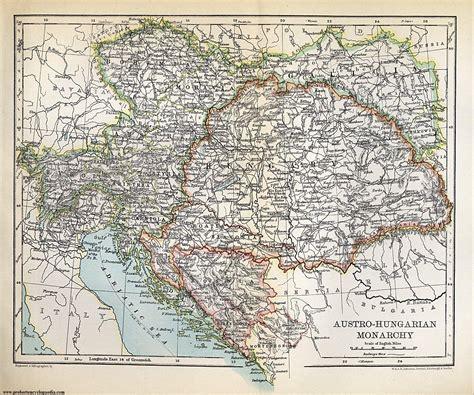 austria hungary map 1900 tri college omeka site map of austria hungary empire 1900