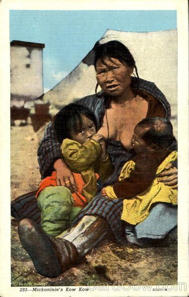 mickaninies kow kow breastfeeding native americana