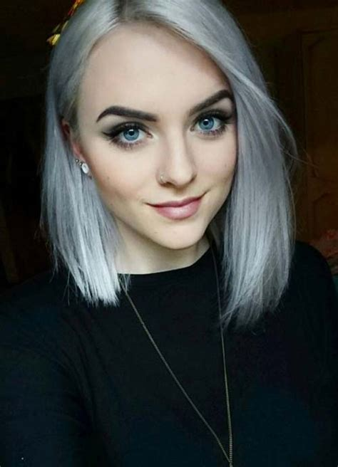 hairstyles for long fine grey hair 55 short hairstyles for women with thin hair fashionisers