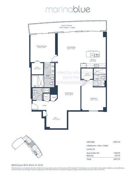 marina blue floor plans marina blue condos 888 biscayne blvd miami fl 33132