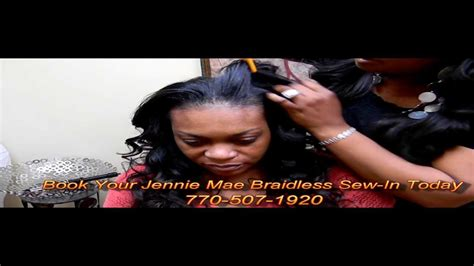 what is the jennie mae weave the jennie mae sew in the jennie mae braid less sew in