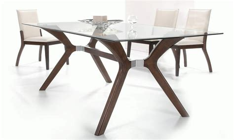 Rectangular Glass Top Dining Table Sets Leather Dining Sets Rectangular Glass Top Dining Table Sets Clear Coma Frique Studio 54d75ad1776b