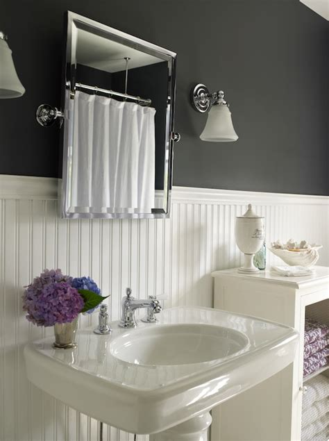 Bathroom Beadboard Ideas White Beadboard Bathroom Design Ideas