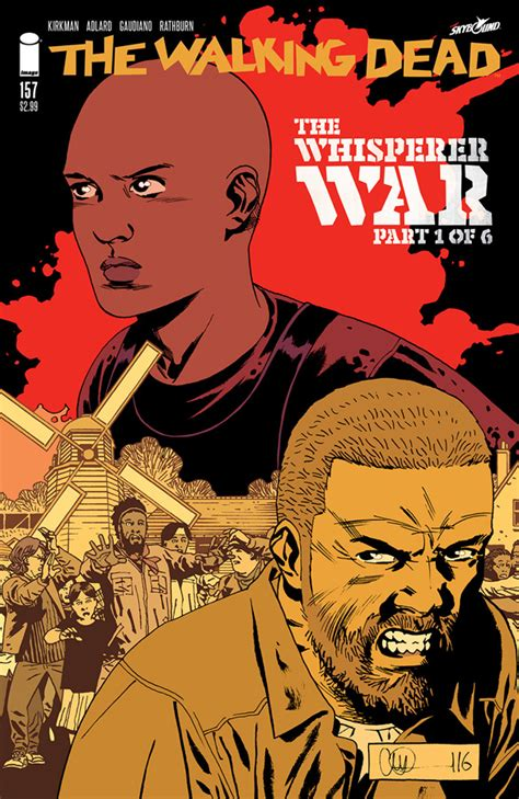 the walking dead volume 27 the whisperer war the walking dead 157 capa e informa 231 245 es guerra dos