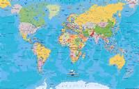 Mapa Político Territorial Del Mundo