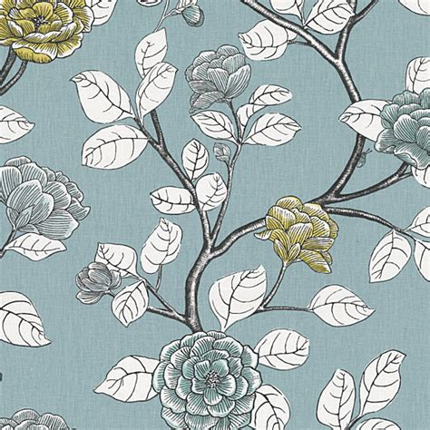 modern floral upholstery fabric gray sketched floral fabric view in your room houzz