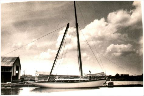 zeewaardige roeiboot scheepswerf de vlijt de volhouder 1937 scheepswerf de vlijt