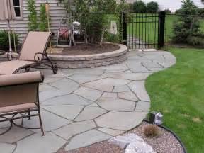appealing crushed floor for patio garden ideas