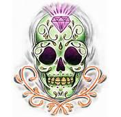 Recent ObsessionSugar Skulls  Fuzzyneonllama