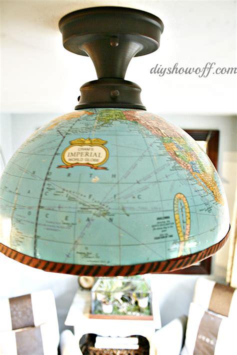 diy light fixture cover diy globe light fixture home diy projects and tutorials
