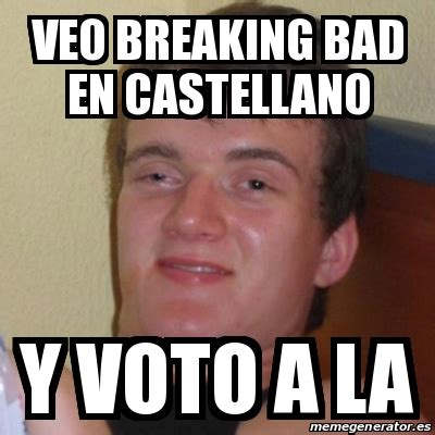 Breaking Bad Pizza Meme - meme stoner stanley veo breaking bad en castellano y
