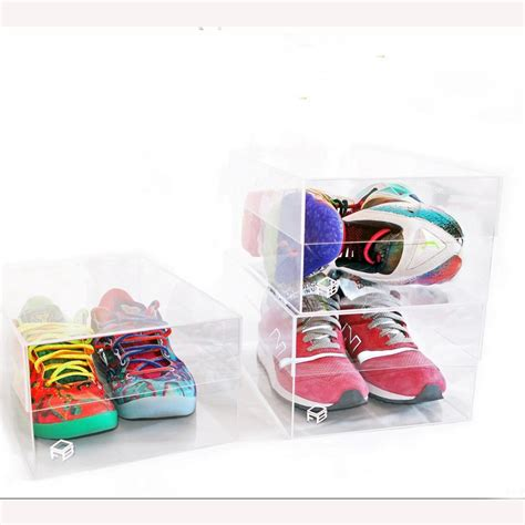 clear sneaker box 2015 clear transparent shoe box for sneaker high quality