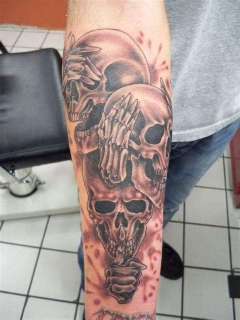 scary tattoos for men best 25 bandana ideas on gangster