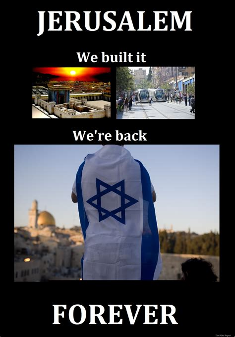 Israel Meme - kerry palestinian capital in jerusalem and a mike report
