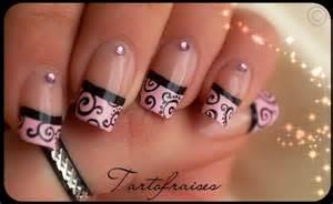 Pink and black nail art designs healthy women blog