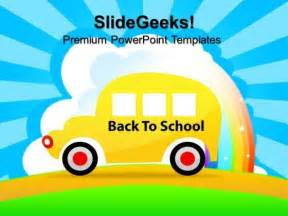 back to school powerpoint template back to school education powerpoint templates and