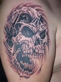 Evil Skull Tattoo Flash  Cool Eyecatching Tatoos