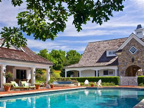 patio and pool poolside patios hgtv