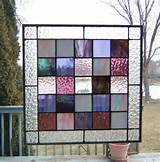 Photos of Stained Glass Window Hangings Panels