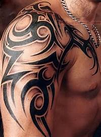 Tribal Arm Tattoo For Men  Design And Ideas