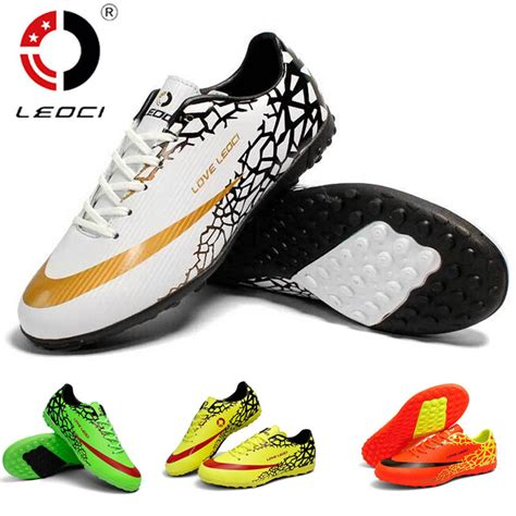 football shoes store aliexpress buy leoci soccer shoes mens indoor sport