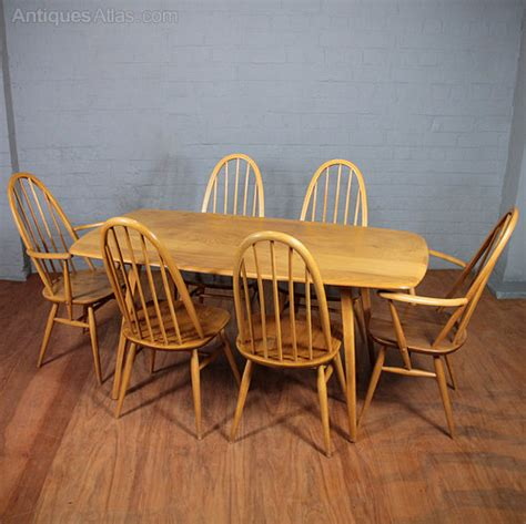 Ercol Dining Table And Chairs Antiques Atlas Ercol Table Chairs