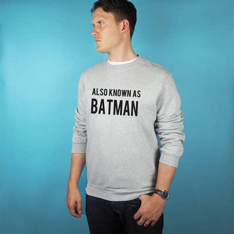 St Sweater Batman Batto also known as batman sweatshirt by rock on ruby notonthehighstreet