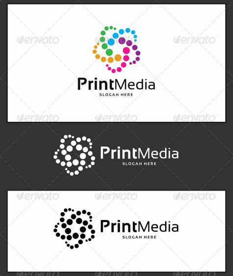 Print Media Templates print media logo template by yakdesigner graphicriver