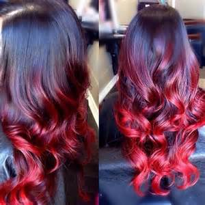 Hair girl loving red ombre hair why not trying this