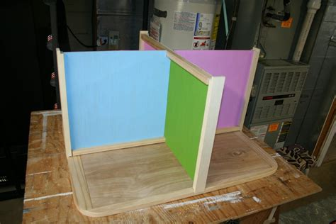 collapsible doll house collapsible barbie sized doll house by benboy lumberjocks com woodworking community