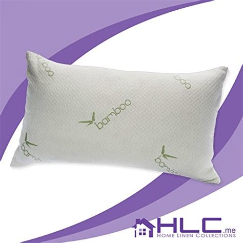 Never Flat Pillow by Hlc Me Bamboo Comfort Memory Foam Pillow Never Stays