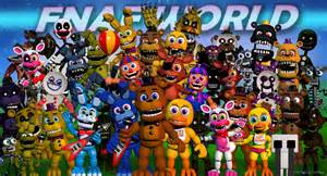 Primer tr 225 iler de fnaf world spin off de five nights at freddy s