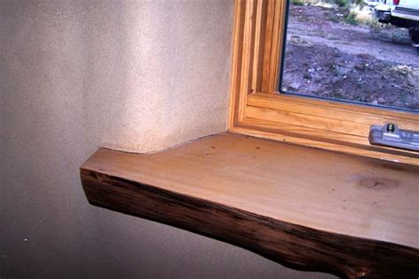 What Wood To Use For Window Sill Plank Window Sill Earthen Touch Builders