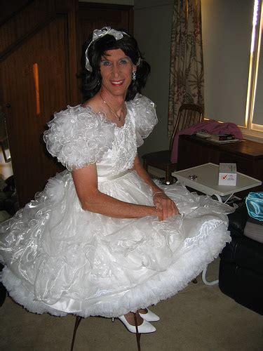 crossdresser wedding dress crossdresser in a wedding dress xgirltv1000 s most