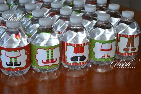 diy water bottle chrismast craft picture water bottle labels crafts bottle water bottles and