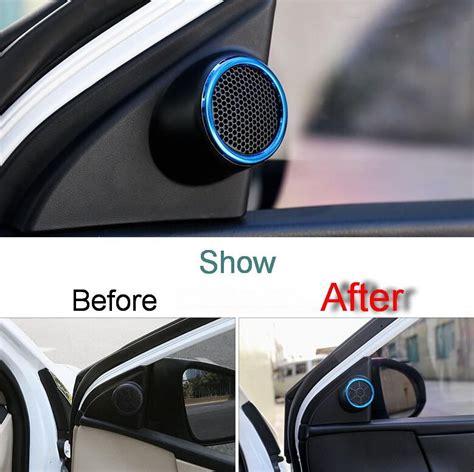 Refitting Tweeter Toyota Innovadudukan Tweeter Innova 2 pcs diy car styling stainless steel tweeter speaker